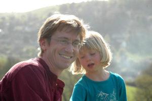 Leo and his daughter Lara